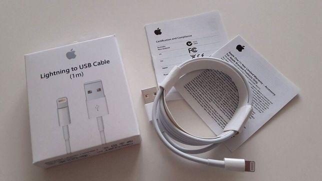 Nowy oryginalny kabel apple lightning iPhone iPad