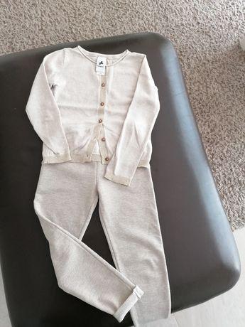 Zestaw Palomino C&A 110 sweter spodnie krem nitką gratis