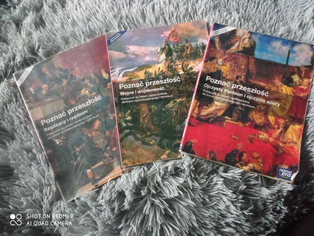Trzy Podręczniki Poznać przeszłość do historii i społeczeństwa