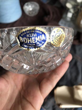 Богемский хрусталь.  Богемия. СССР.  Чехословакия