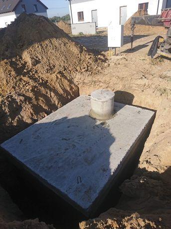 Zbiornik betonowy na wodę szambo szamba 4m-12m Kraków Katowice Rzeszów
