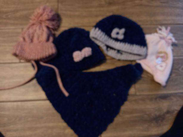 Czapki zimowe dla niemowlaka