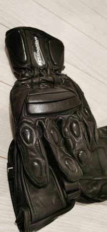 Rękawice skórzane na motocykl IN MOTION rozmiar L