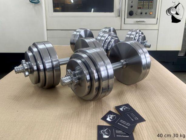 Hantle stalowe regulowane 30 kg