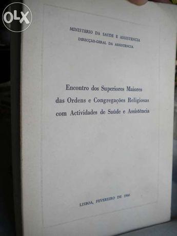 """Livro antigo de 1966 """"Ordens e Congregações Religiosas"""""""