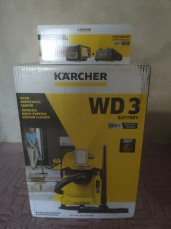 Odkurzacz przemysłowy Karcher WD3 premium battery, bezprzewodowy