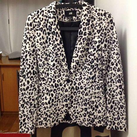 Casaco blazer padrão tigre / tigresa Novo