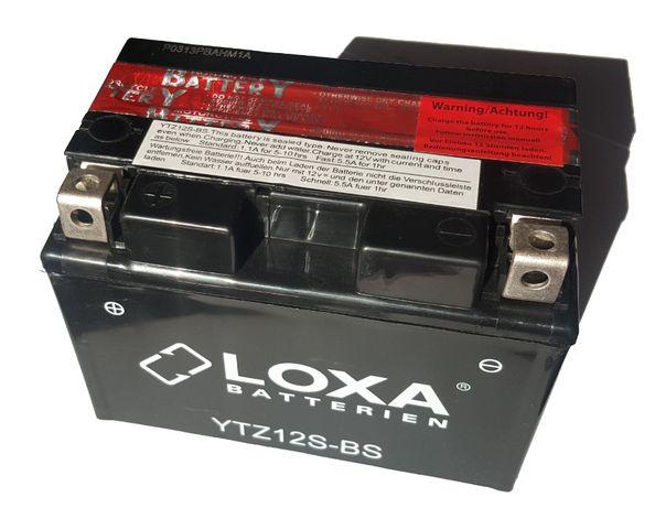 Akumulator moto LOXA YTZ12S-BS CTZ12S-BS 11Ah 210A 12V AGM/GEL Wrocław