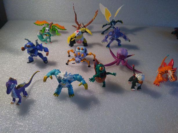14 InviZmals antigos da IMC Toys