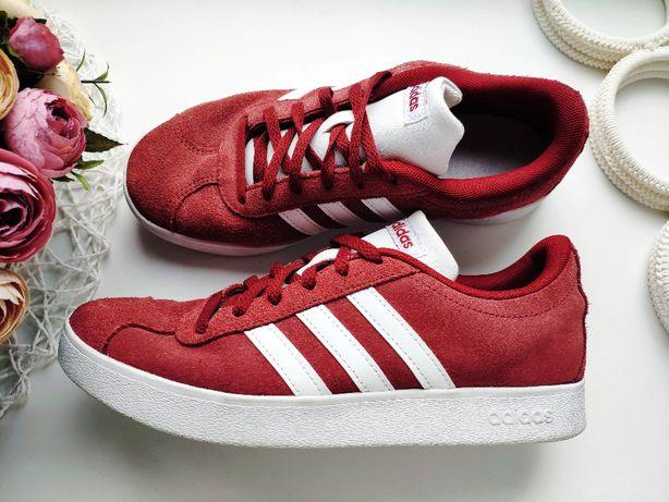 Adidas (Адидас) Кожаные кроссовки оригинал кросовки 37-38 (24 см)