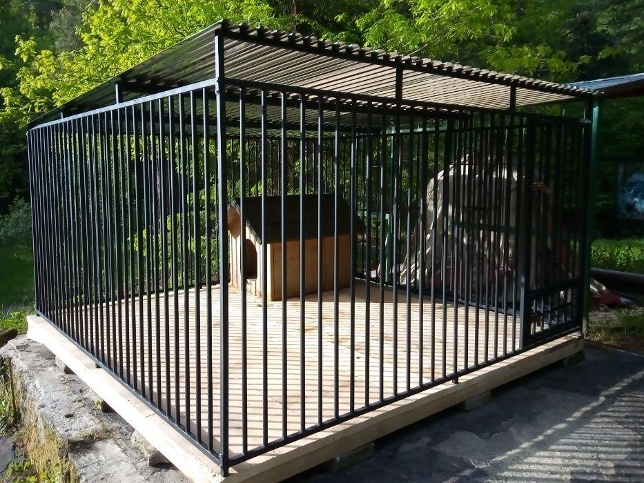 Kojec dla psa 4x2 m Kojce dla psów Miastko - image 1
