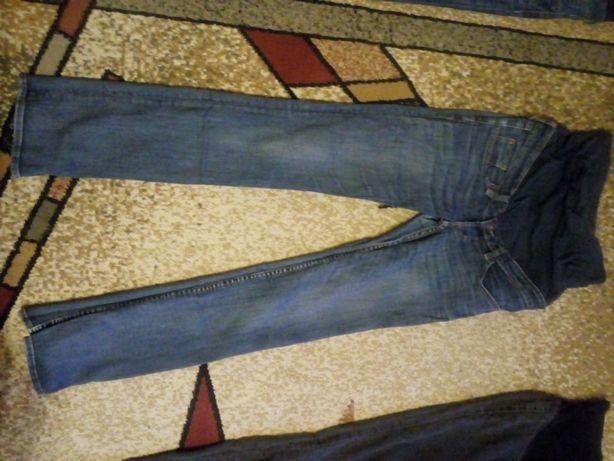 Spodnie ciążowe rozm. 36 z pasem na brzuch H&M