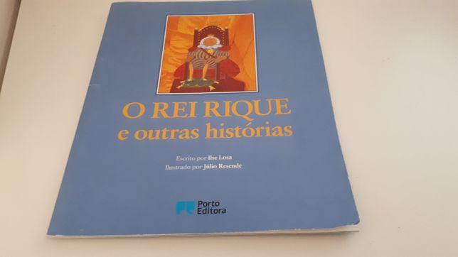 Livro o rei Rique e outras histórias