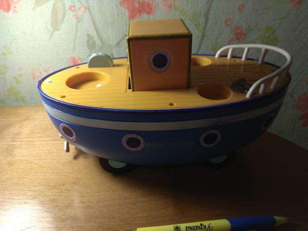 игрушки/машинки/свинка пеппа/паровоз/ кораблик