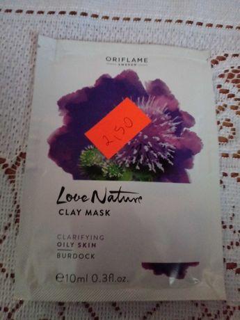Oczyszczająca maseczka z łopianem Love Nature Oriflame
