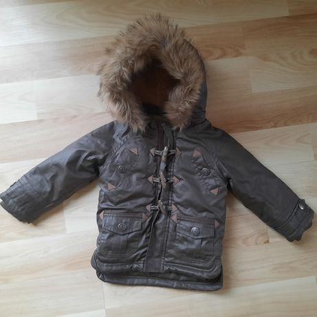 Куртка зима Франция на меху рост 86-92 см, состояние новой