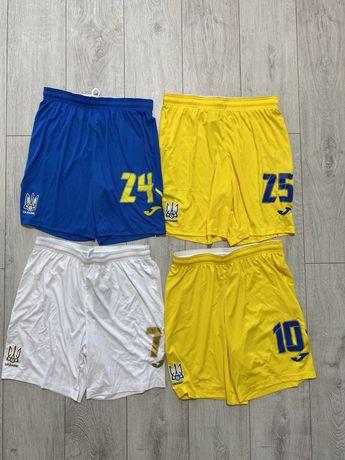 Joma 2021 новая колекция игровые шорты сборной Украины Nike adidas