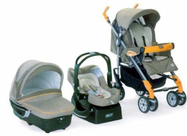 Trio carrinho de bebé da Chicco