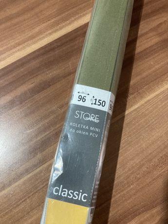 Nowa roleta na okno pcv 96x150 oliwka khaki