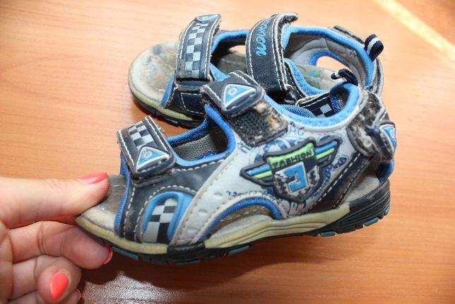 Босоножки 22 размер на мальчика сандали