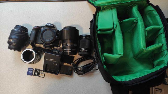 Lustrzanka Nikon D3200