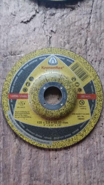 Круг зачистной по металлу 125*6,0*22 А 24 EXTRA Klingspor (Kronenflex)