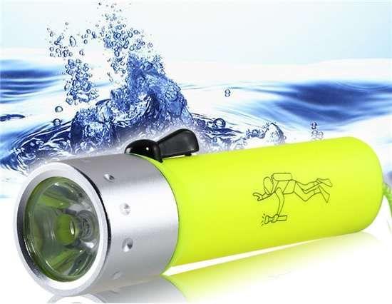 Lanterna de Mergulho à Prova de Água - para palamenta de barco