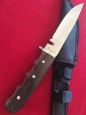 Nóż taktyczny myśliwski full tang bardzo solidny 5,5 mm