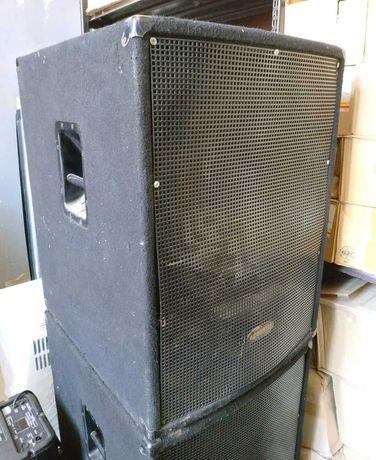 Б/У Acoustic SY-118 1000Вт. Колонки 1000Вт. Динамики 1000Вт