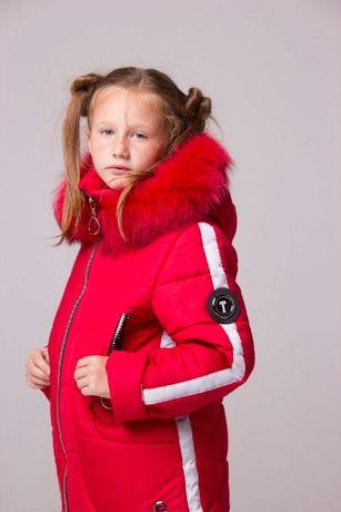 Куртка пальто зимнее на девочку Таира 2019. От производителя. Опт/роз