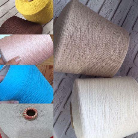 хлопок бавовна пряжа нитки бобина бабина машинного вязания ручного