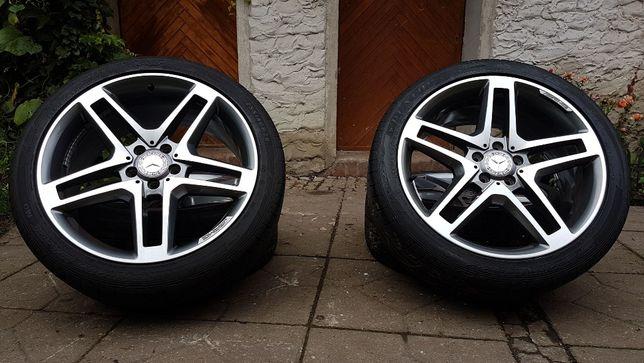"""Felgi Mercedes AMG 20"""" Dwie szerokości 9,5j 8,5j 5x112 Glk CLS ML"""