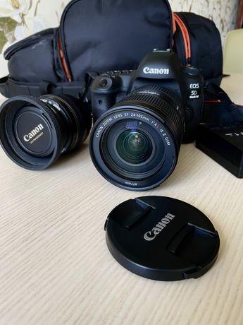 Canon 5d mark IV+рюкзак+карта памяти