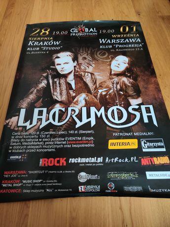 Lacrimosa - Autograf, Sehnsucht World Tour 2009, Tilo Wolff Anne Nurmi