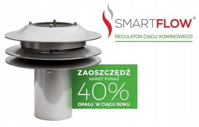 Regulator ciągu kominowego Smartflow Polmar nasada kominowa WYSYŁKA
