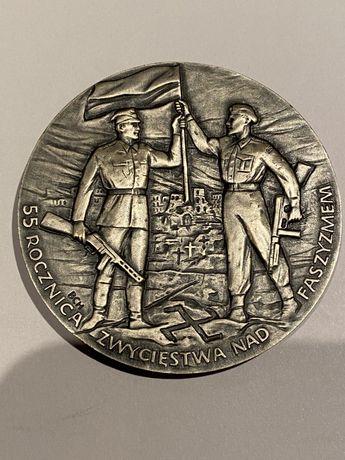 Medal 55 Rocznica Zwycięstwa nad Faszyzmem 2000. Mennica Państwowa