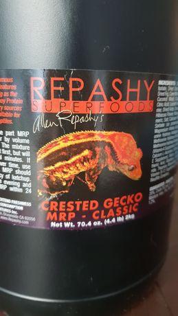Repashy crested gecko Classic - dla gekon orzęsiony, super karma