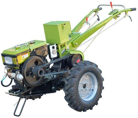 Мотоблок Дизель 12 л.с. электростартер Кентавр Зубр Forte трактор