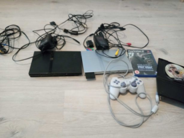 Konsola PlayStation 2 X2 Plus Pad + 2 gry