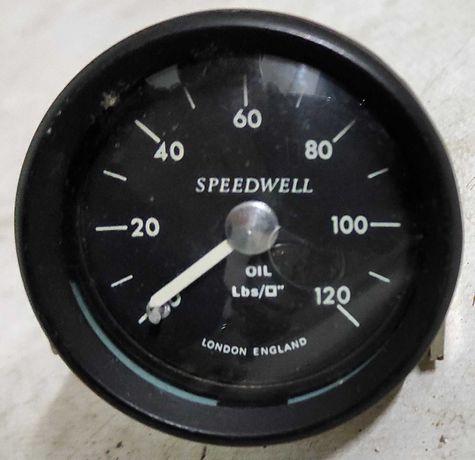 Speedwell manómetro de pressão de óleo