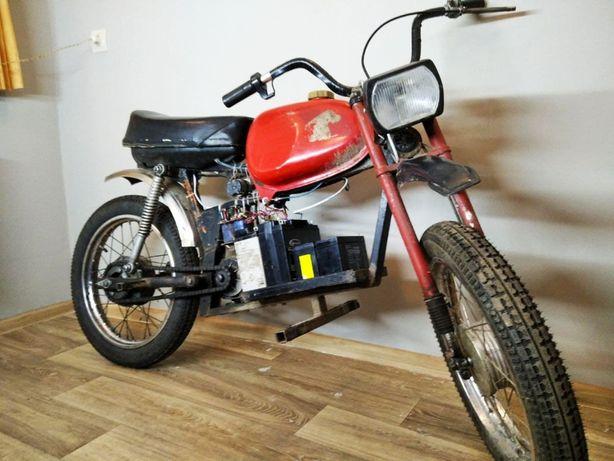 Карпаты Электро 48V 750W (мото мопед скутер мотоцикл велосипед)