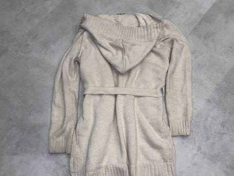 sweter futerko kaptur pasek rozm 38/M