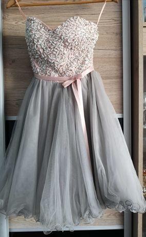 """Sukienka typu """"księżniczka"""""""