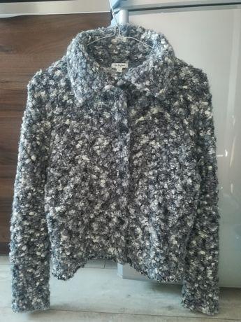 Sweterek marki La Ligna jak nowy 63% wełny rozmiar M, L