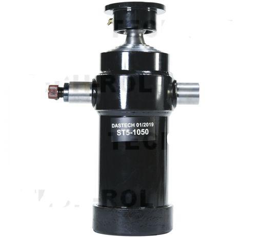 Siłownik,cylinder hydrauliczny wywrotu skok1050 mm