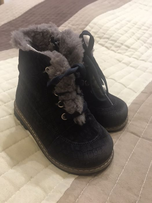 Детские зимние ботинки, размер 24 Павлоград - изображение 1