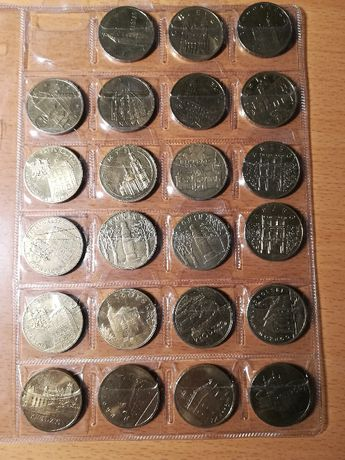 Monety 2 zł okolicznościowe 2000 r. - 2011 r.