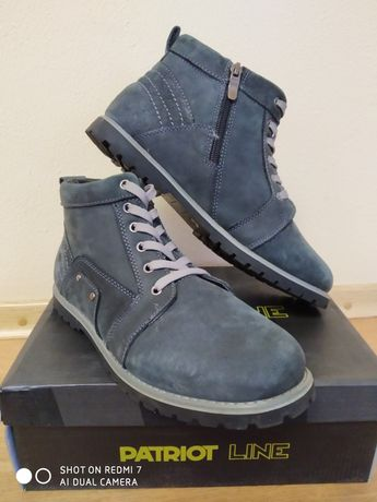 Ботинки зимнее мужские