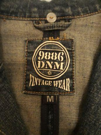 Żakiet damski jeans Vintage