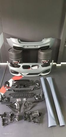 Kit M Bmw Serie 1 F21 Lci Pack M BMW Serie 1 F21 Facelift Kit M (2014- em diante